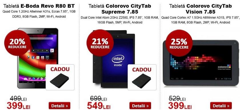 evoMAG.ro oferă reduceri substanțiale la telefoanele și tabletele din stoc; LG G2 disponibil la prețul de 1.599 lei