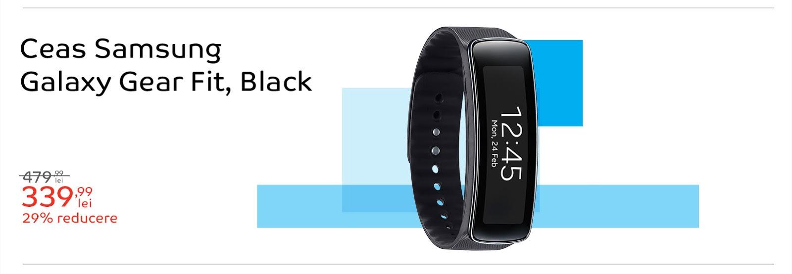 Samsung Gear Fit la reducere