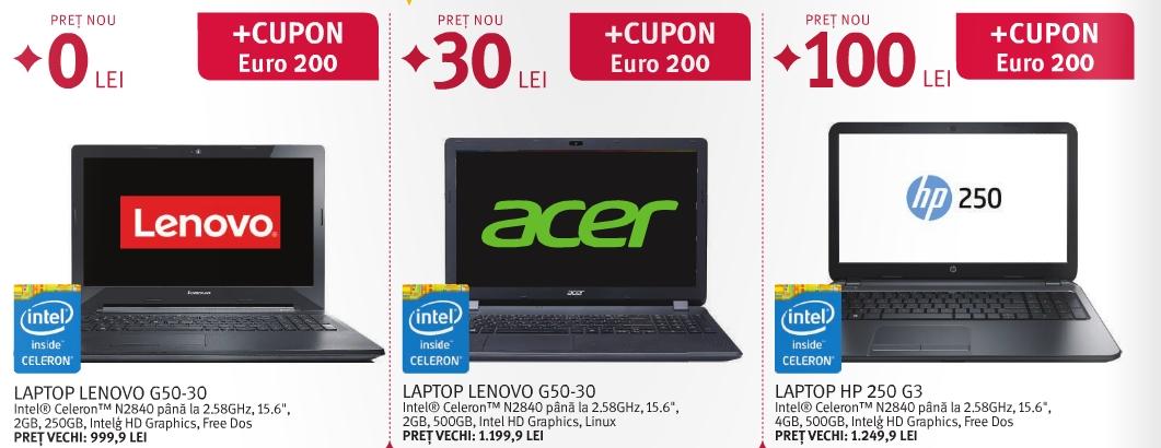 Altex oferă laptop-uri de la 0 lei pentru elevii ce obțin un cupon Euro 200; iată și alte reduceri!