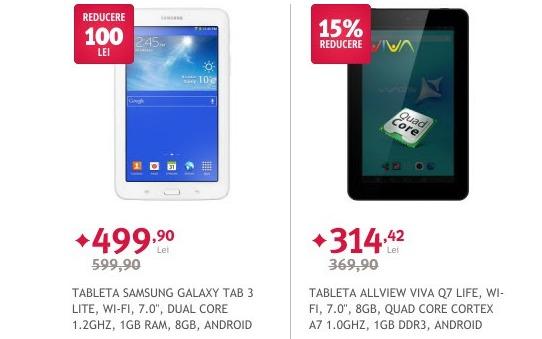 Altex oferă noi reduceri pentru tabletele din stoc! UTOK 700D Lite disponibilă acum pentru doar 199 lei