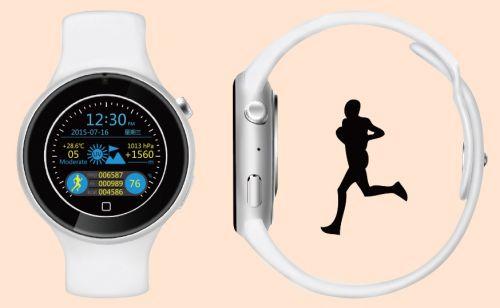 AiWatch C5 este un smartwatch elegant ce aduce un display circular și certificare pentru rezistență la apă; costă doar 71.69 dolari