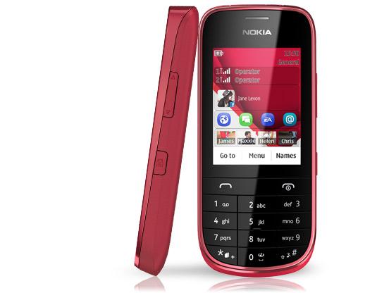 Nokia Asha 202 dual-sim - 319 lei