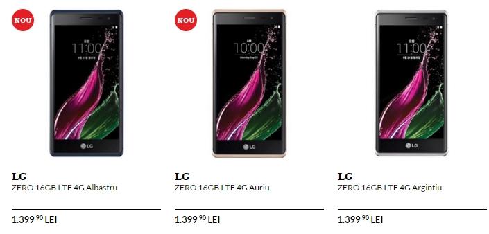 LG Zero disponibil de astăzi în stocurile QuickMobile; terminal metalic cu dotări mid-range