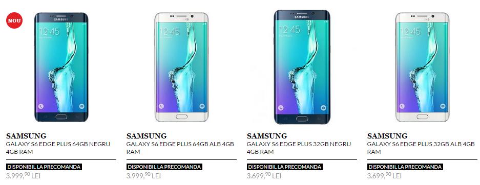 QuickMobile și eMAG primesc de astăzi pre-comenzi pentru noul Samsung Galaxy S6 Edge+