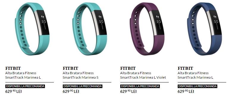 Brățara fitness FitBit Alta acum la pre-comandă pe QuickMobile.ro la un preț de 629 lei