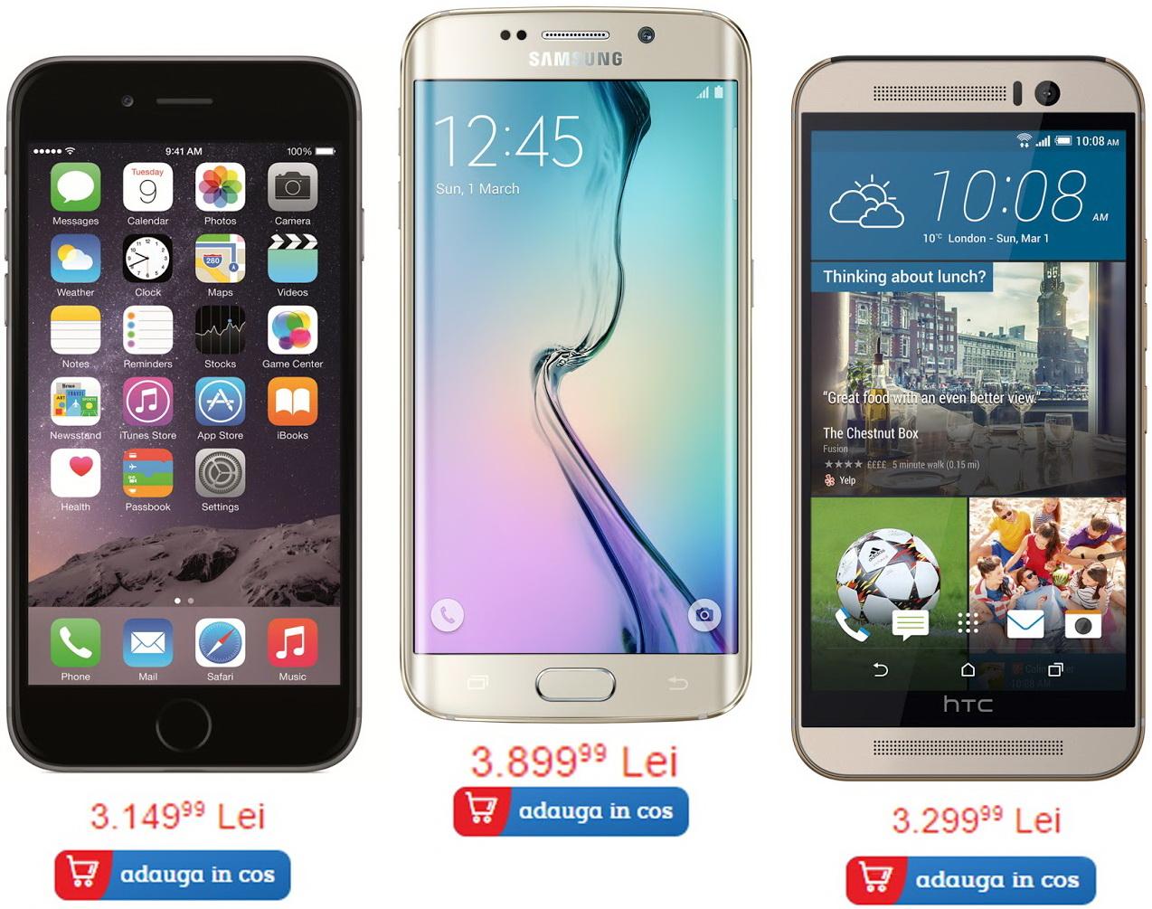 Iată cele mai vândute 5 telefoane din portofoliul eMAG, la început de luna mai 2015