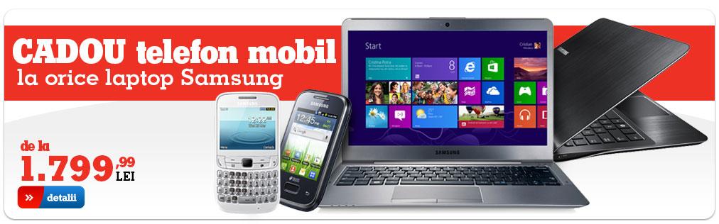 Noile promoții eMAG.ro: Nexus 7 cadou la Notebook ASUS, telefon cadou la laptop Samsung