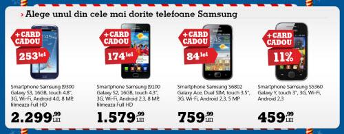Galaxy S III la reducere