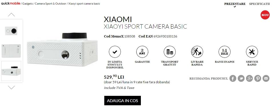 Xiaomi Xiaoyi