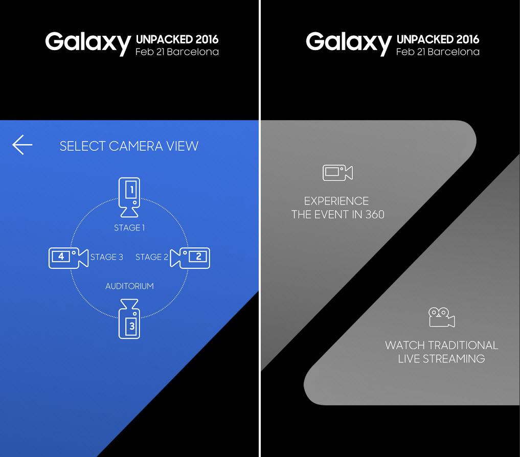 Samsung lansează o aplicaţie ce permite urmărirea evenimentului Unpacked 2016 la 360 de grade, folosind un headset VR si nu numai