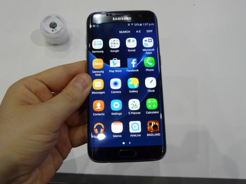 Aplicatii preinstalate pe Samsung Galaxy S7 Edge