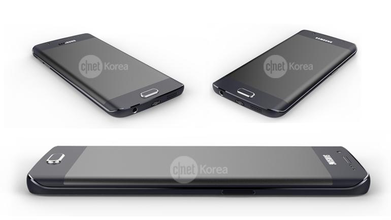 Samsung Galaxy S6 Edge apare într-o nouă serie de randari, care oferă o privire clară asupra designului său