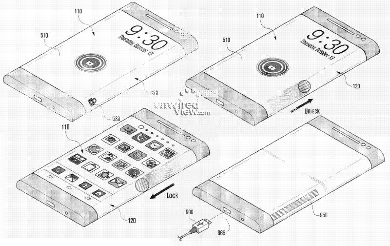 Viitoarele smartphone-uri cu display-uri curbate de la Samsung ar putea dispune de noi funcții; posibila lansare în 2014