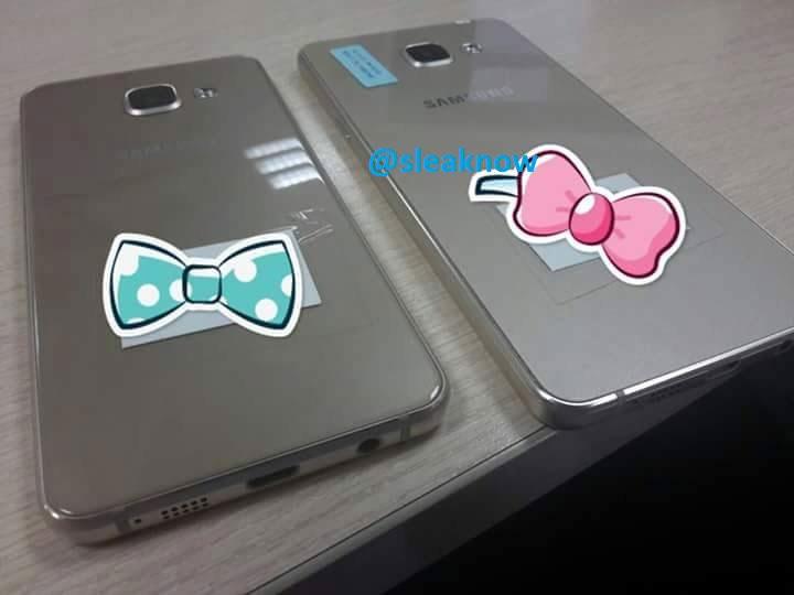 Noua generație Samsung Galaxy A3 și Galaxy A5 se afișează în fotografii; aduc un pic din design-ul lui Galaxy S6