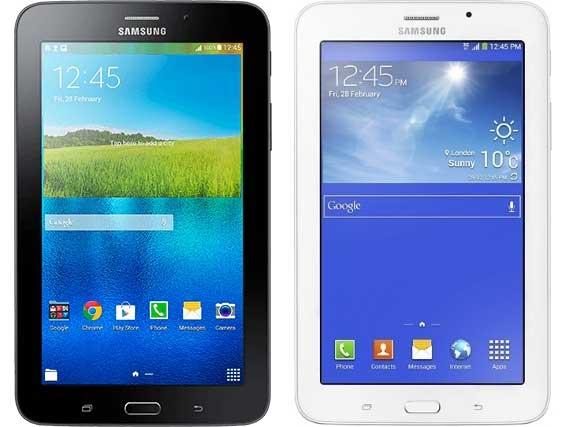 Samsung anunţă oficial tabletele Galaxy Tab A şi Galaxy Tab 3 V în Rusia