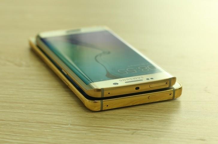Bling bling: Samsung Galaxy Note 5 şi Galaxy s6 Edge disponibile acum în variante acoperite cu aur