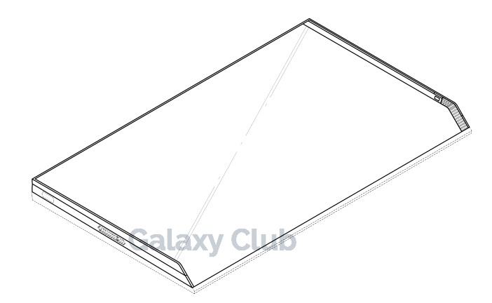 Un brevet Samsung din Coreea detaliază o tabletă pliabilă