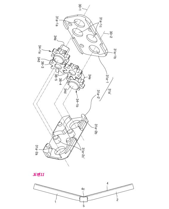 Un smartphone flexibil Samsung e prezentat în detaliu de brevete, se afla în stadiu avansat de dezvoltare
