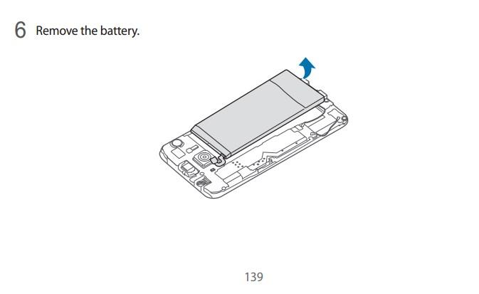 Samsung Galaxy S6 are de fapt o baterie înlocuibilă, dar se poate accesa doar cu ajutorul şurubelniţei