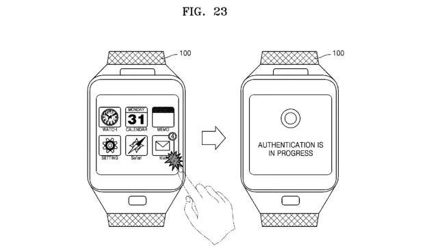 Un nou brevet Samsung pentru smartwatch detaliază autentificarea prin analiza venelor utilizatorului