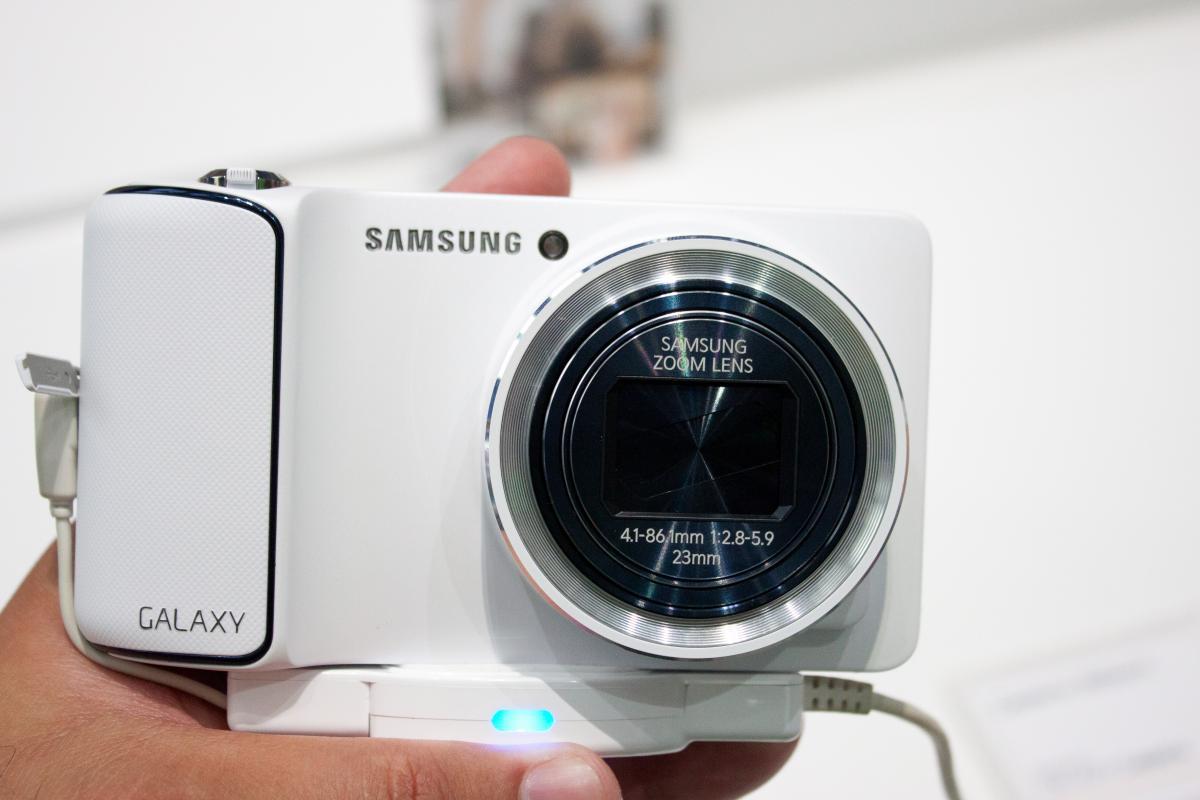 Samsung GALAXY camera - câteva fotografii, impresiile de la IFA Berlin 2012