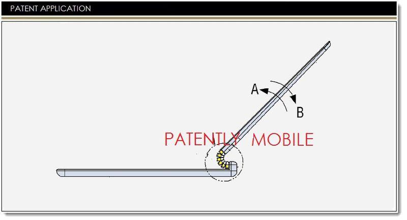 Samsung brevetează o balama flexibilă pentru un notebook hibrid, bazată pe mici rotițe