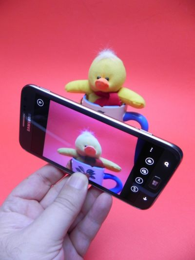 Samsung Ativ S - camera