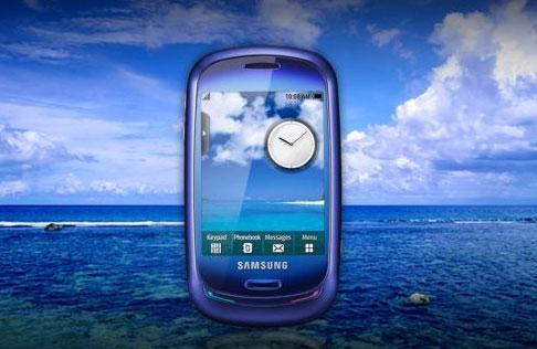 Samsung Blue Earth, primul telefon full touch pe baza de energie solara