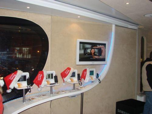 Caravana Samsung Mobile - Samsung Corby