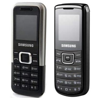 Samsung E1125 si E1100