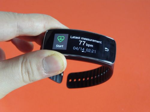 Samsung Gear Fit - Heart Rate