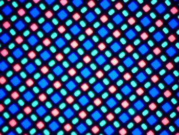 Display Samsung Galaxy A5 la microscop