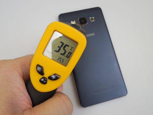 Samsung Galaxy A5 a primit şi un test de temperatură, după 15 minute de jucat Riptide GP2