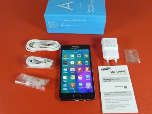 Continutul cutiei lui Samsung Galaxy A5