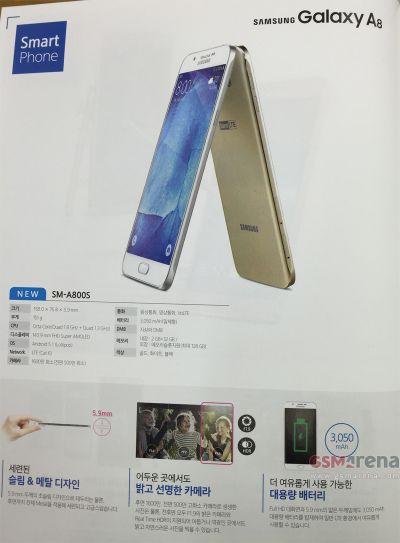 Samsung Galaxy A8 primeşte o reclamă într-o revistă din Coreea de Sud, e gata de lansare