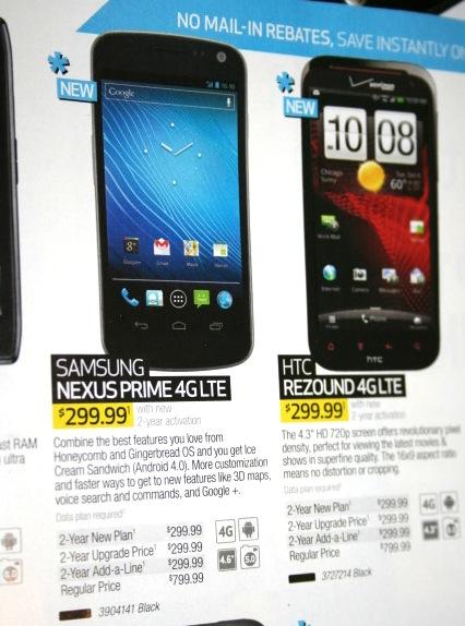 Haos si nebunie! Galaxy Nexus Încă o dată găsit sub numele de Nexus Prime, acum În oferta Best Buy