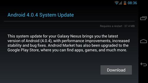 Tutorial instalare Android 4.0.4 pe Galaxy Nexus!