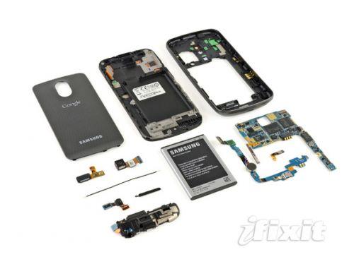 Samsung Galaxy Nexus disecat de iFixit