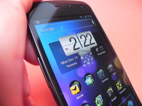 Galaxy Nexus este telefonul preferat al redactorilor Mobilissimo.ro