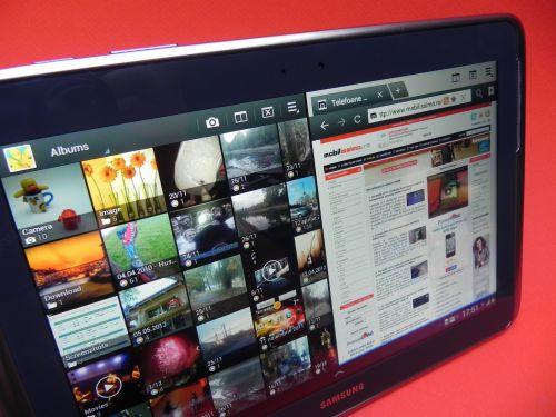 Cea mai promovată funcție a noii tablete Samsung este multiscreen
