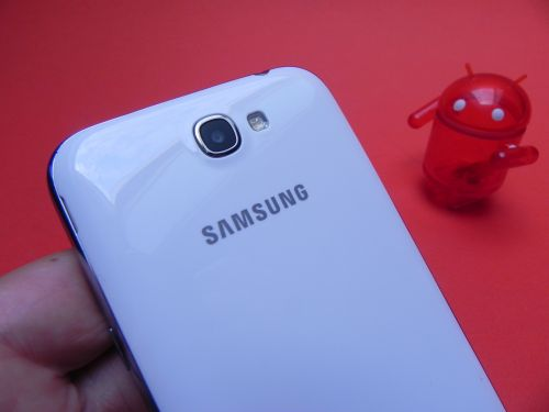 Samsung Galaxy Note II, camera