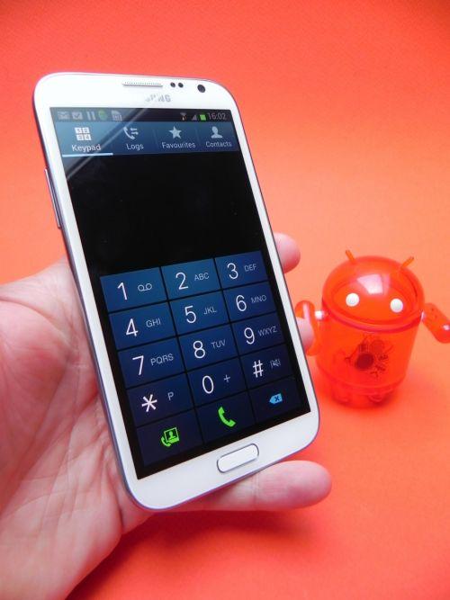 Samsung Galaxy Note II functia telefon
