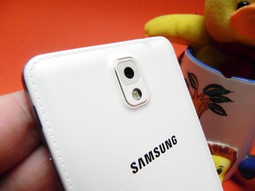 Spatele lui Samsung Galaxy Note 3