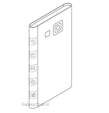 Un nou brevet Samsung prezintă un design inedit de smartphone, ar putea fi adoptat pe Galaxy Note 4