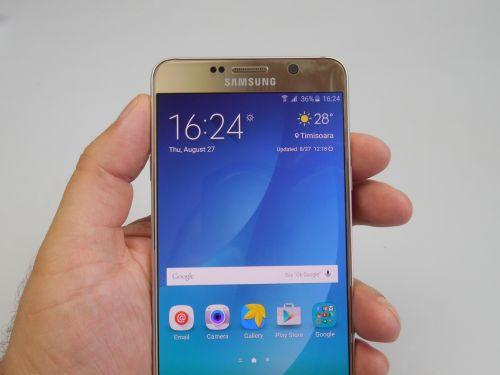 Recenzie Samsung Galaxy Note 5
