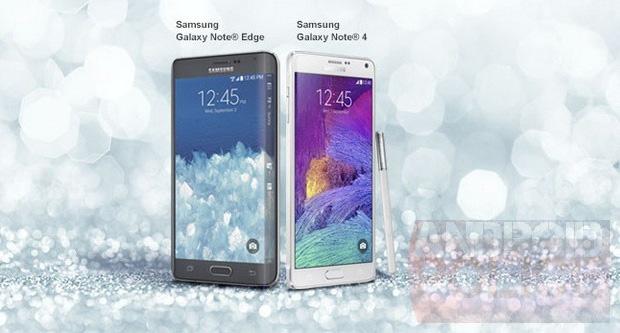 Samsung Galaxy Note 4 și un misterios Note Edge scăpa pe web Înainte de lansarea lui Note 4 la IFA; Edge are și ecran lateral!