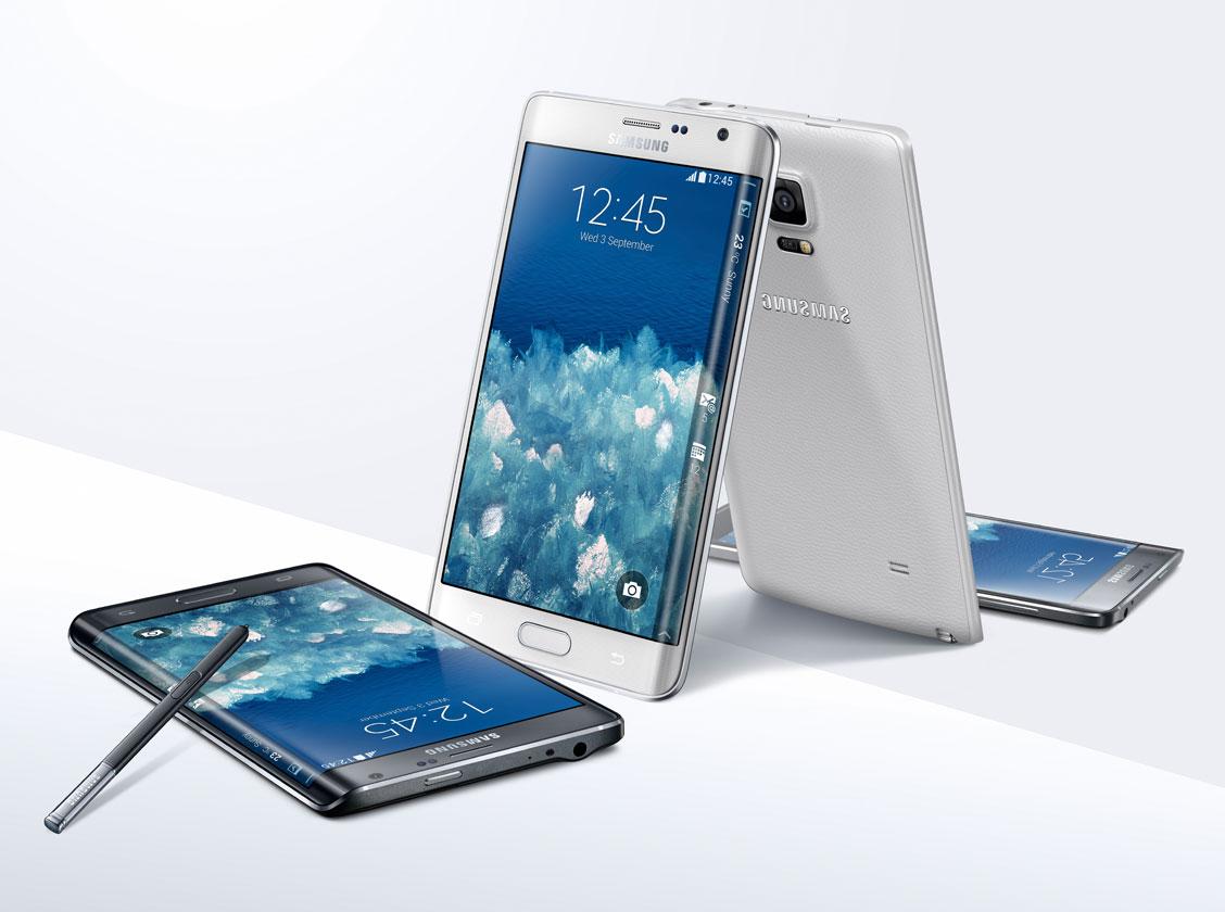 IFA 2014: Samsung lansează Galaxy Note Edge, o versiune de Note 4 cu un mini display lateral curbat pentru notificări