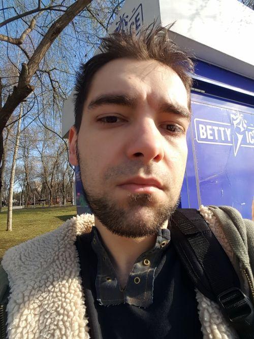 Selfie cu Samsung Galaxy S6 Edge
