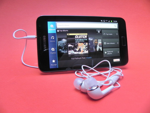 Music HUB - Samsung Galaxy Note