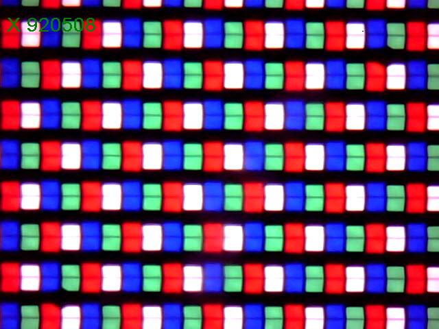 Ecranul e de tip RGBW